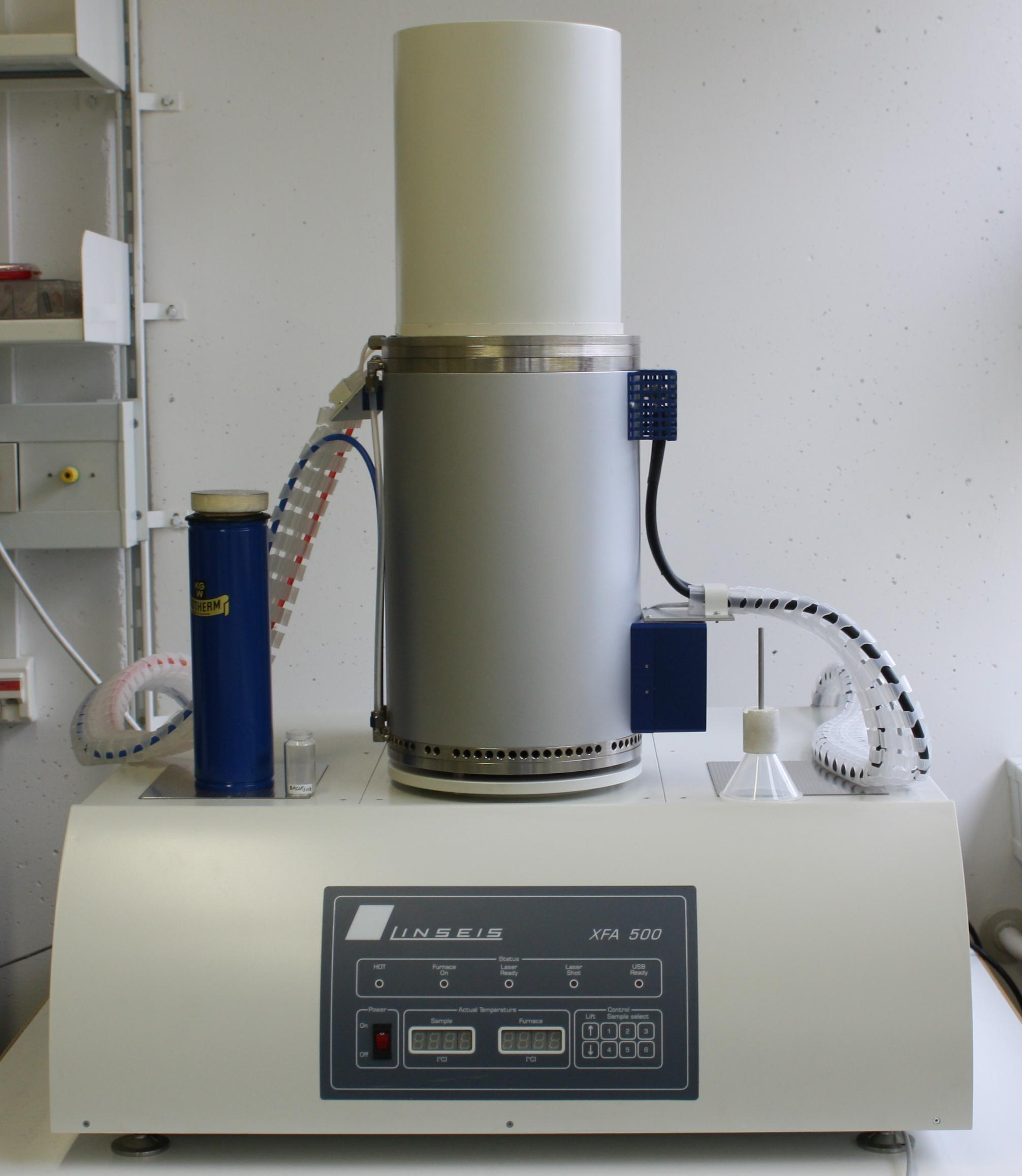 Xenon Flash Thermal Constant Analyzer