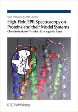 Cover of book 'High Field EPR Spectroscopy on Proteins and their Model Systems' by Möbius and Savitzky
